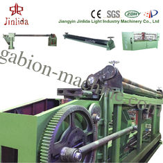 الصين 84 x 120mm Mesh Size Low Noise Automatic Gabion Basket Machine For Max Width 4300mm المزود